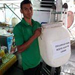 925 litros de aceite usado recuperados en las Fiestas de Zapote 2018-2019